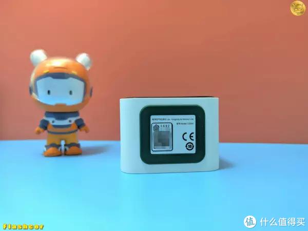 小米有品众筹新品,青萍空气检测仪Lite,小巧精致带五项检测