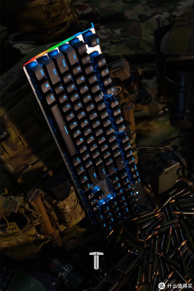 雷柏V530键盘/V330鼠标/VH610耳机——酷炫操作体验,办公游戏两相宜