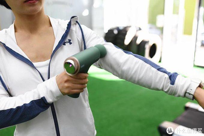 健身必备、肩周结节杀手--倍轻松迷你筋膜枪