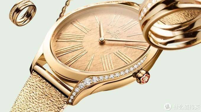 欧米茄推出全新碟飞系列名典女士腕表