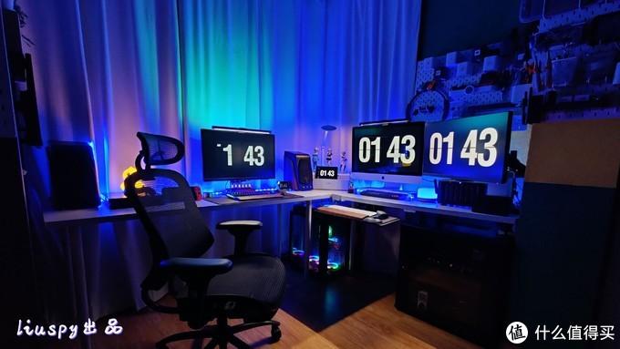 男人的梦想桌面不过如此—3.5米L形娱乐区打造及好物分享