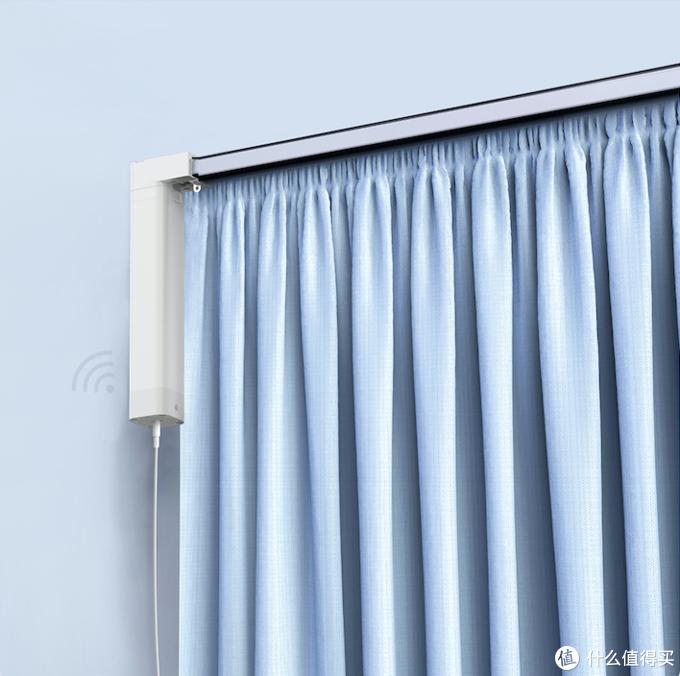 拥有绿米Aqara智能窗帘电机A1后,不用手动拉窗帘,幸福!
