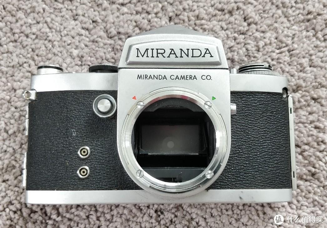 Miranda F,穷人的Nikon F