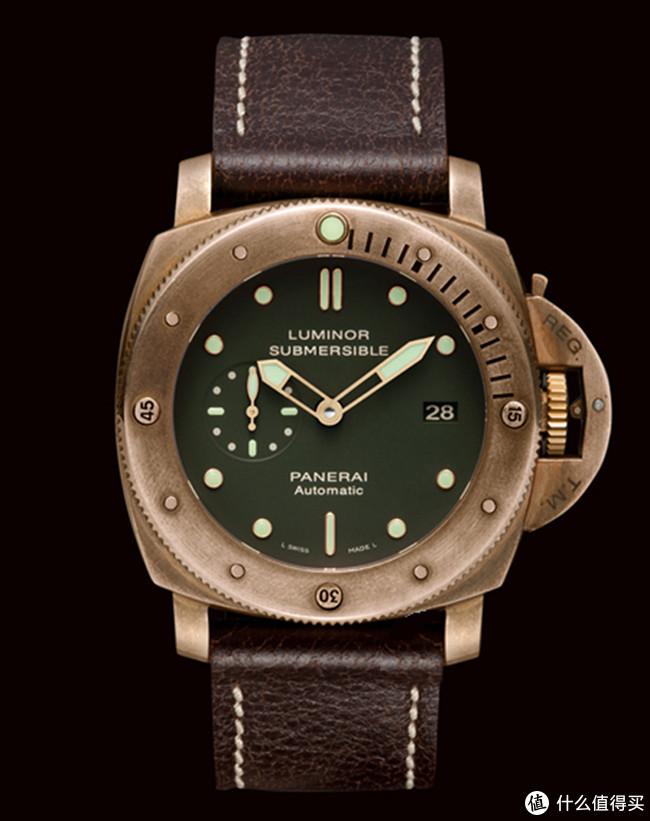 沛纳海PAM382青铜腕表