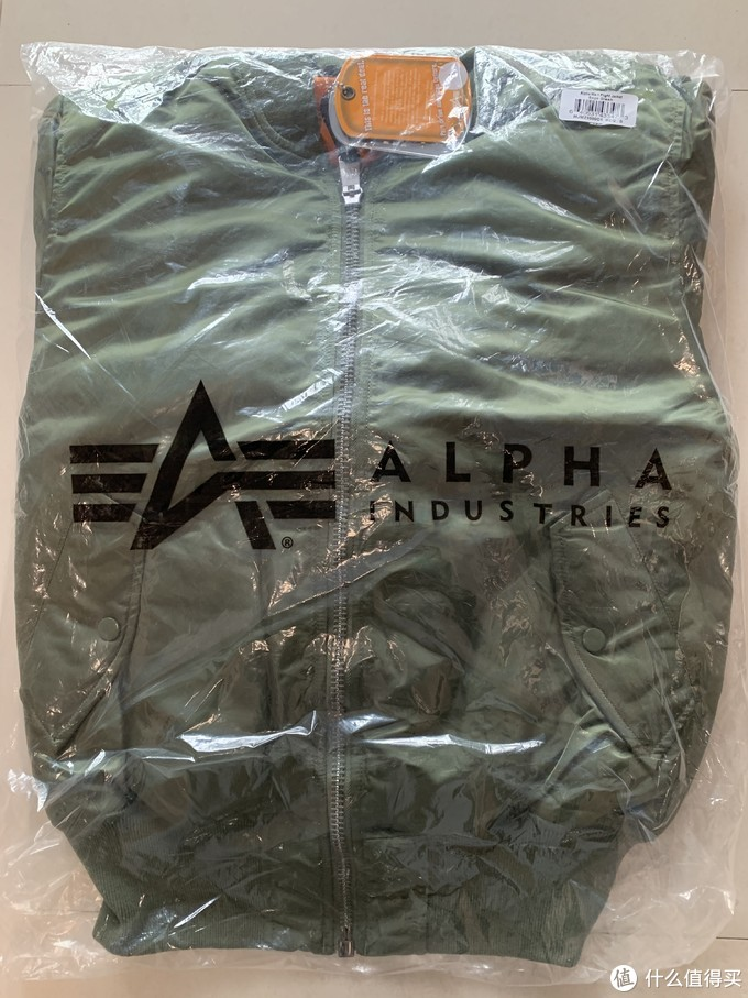重拾海淘的快乐:美亚购入Alpha Industries MA-1经典款飞行夹克