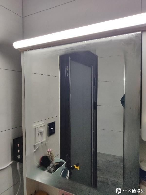 第一次发帖,纪念普通浴室镜改造智能除雾镜