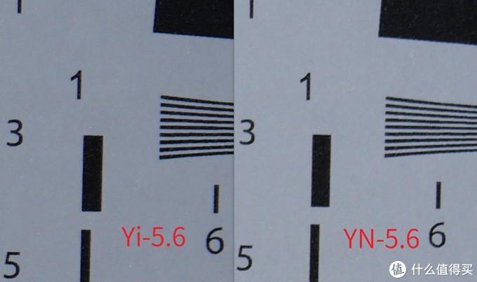 但小蚁的边缘收缩到5.6还是有明显色散