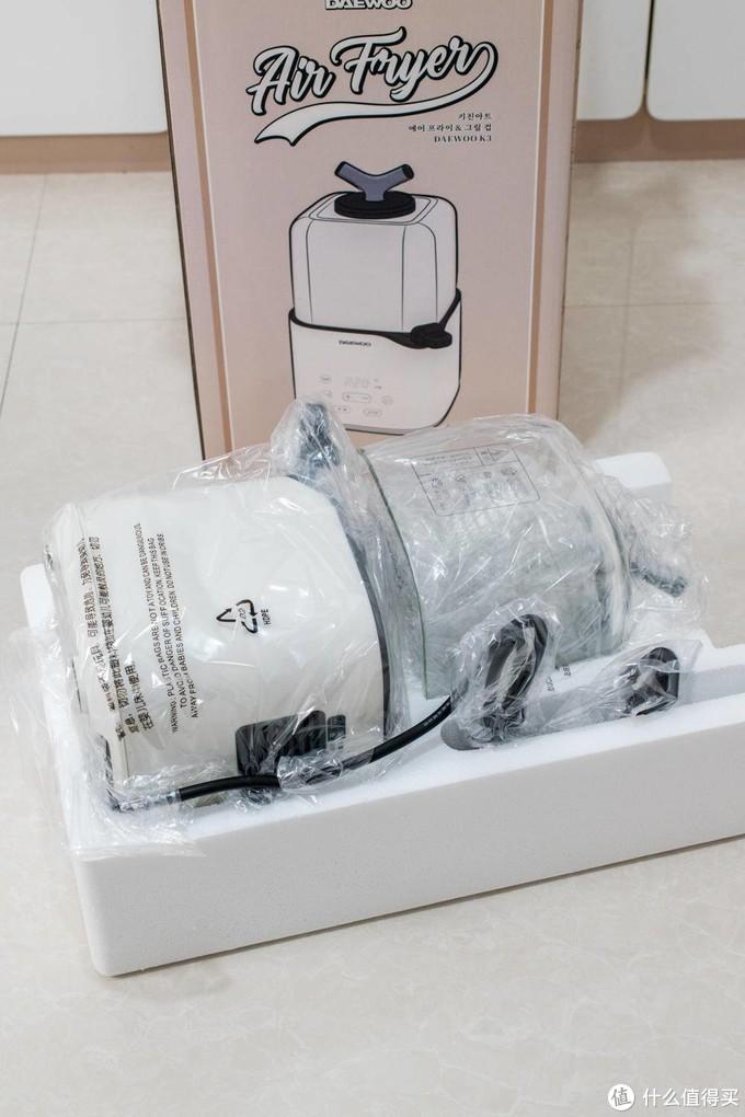 3D加热技术,环绕立体健康炸-韩国大宇K3无油空气炸锅