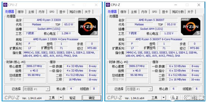 百元级处理器选谁好?R5 3300X大战R5 3500X