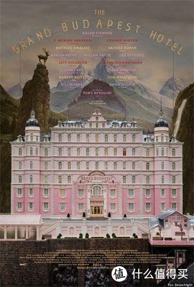 《布達佩斯大飯店》電影海報