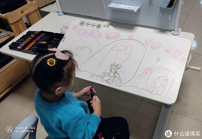 学习、娱乐、工作通吃!西昊(SIHOO)三栖书桌椅套装(下)-H10三栖书桌