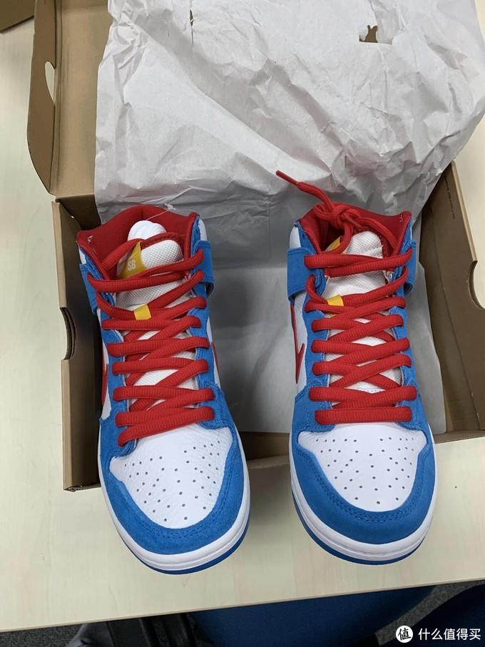 球鞋的哆啦A梦, Nike SB Dunk High Pro ISO