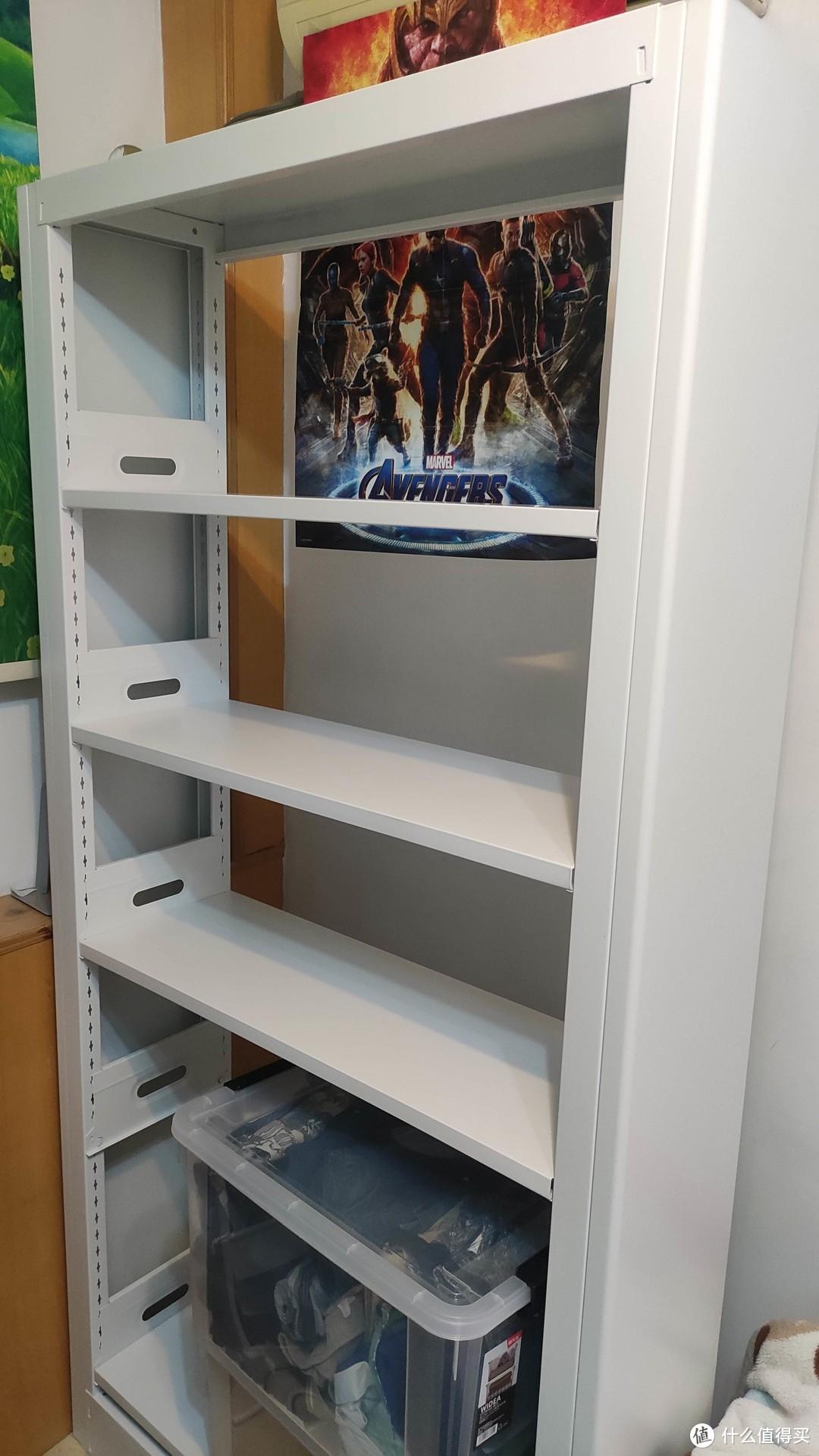 320元0甲醛2m超值实用书架晒单 图书馆书架测评