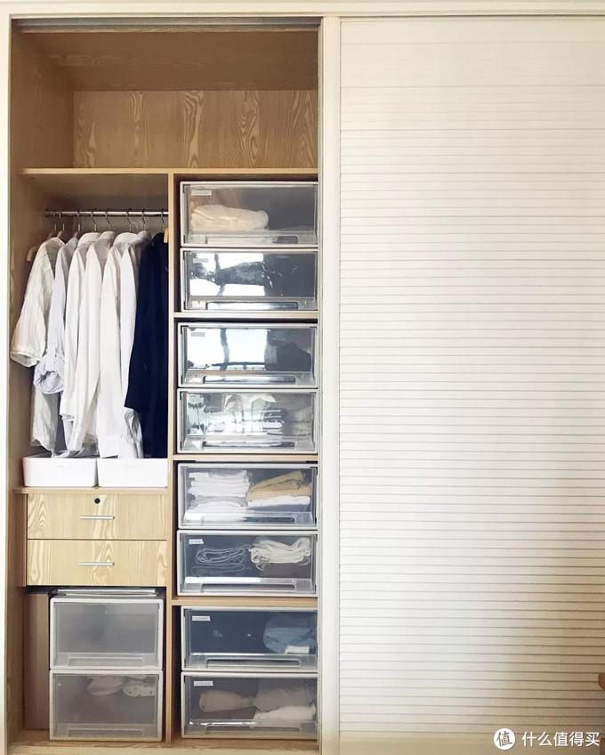 """""""去衣柜化""""的卧室越来越多,也许只有尝试过,才知道有多爽!"""