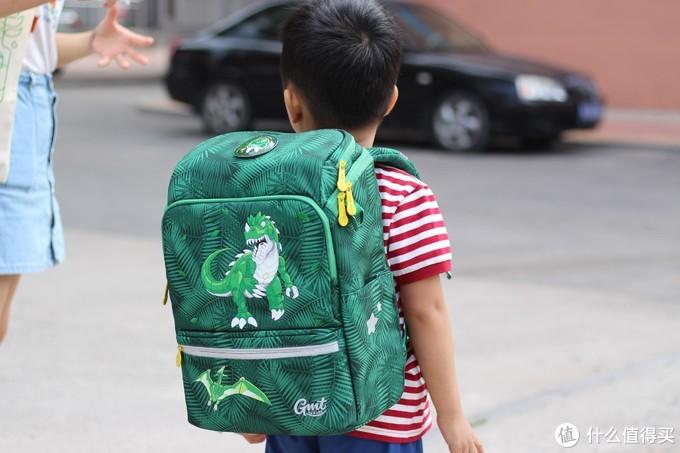 给天蝎座小外甥的好礼物——GMT for Kids小学生护脊书包