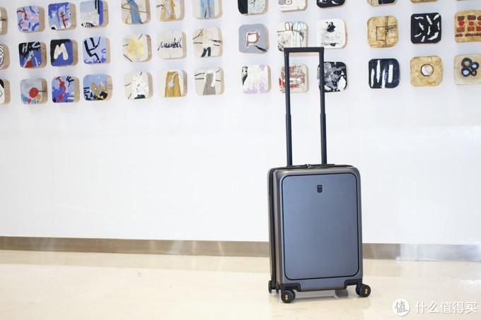 旅行箱就是要坚固、实用、好拉、好看——LEVEL8 地平线8号 前开盖旅行箱评测