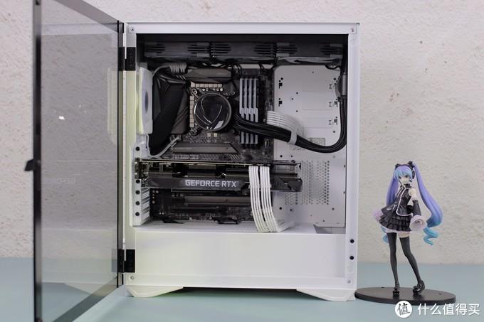 跑分80W!I7 10700K RTX3070 银河360水冷主机新鲜出炉