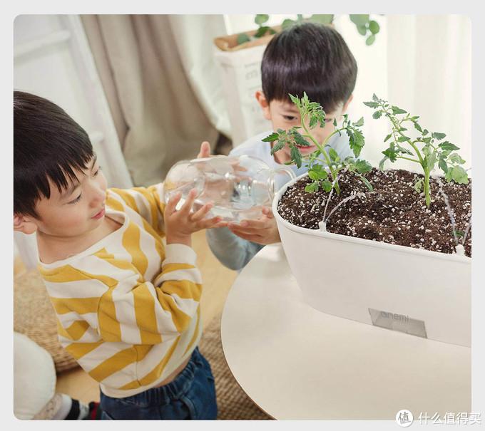 什么植物都养不活?换个一米田AI智能花盆,实时监测植物状态,还能自动浇水!