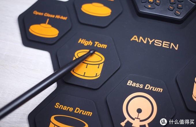 谁说练架子鼓要占很大空间?便携电子鼓了解一下