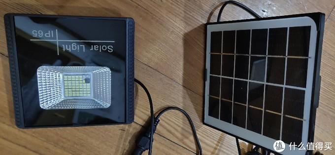 光伏太阳能灯(含说明书)分体式LED太阳能灯人体感应电灯家用室内庭院灯