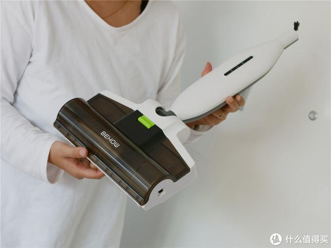 冬季必备免手洗的拖把——BEHOW碧好无线手持电拖把
