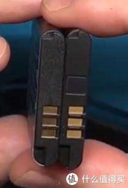 """有以前诺基亚手机电池的感觉了,左边为""""国产"""""""