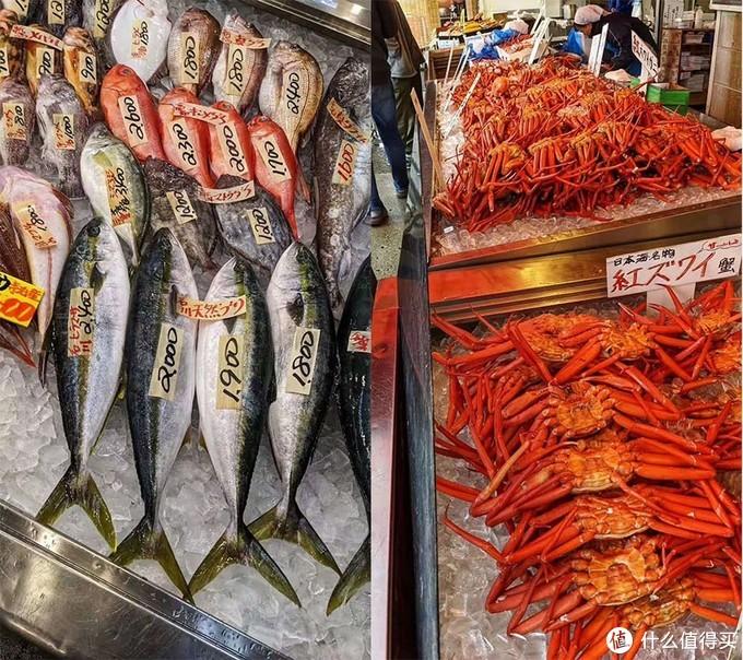 逛海鲜市场是件开心的事情