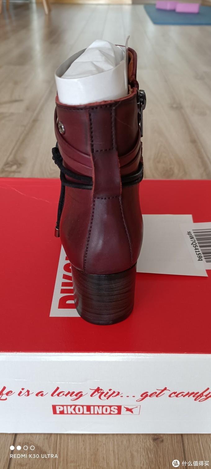 亚马逊购入小众品牌Pikolinos女式裸靴一枚