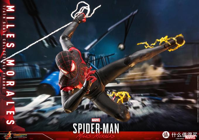 玩模总动员:PS5护航游戏《漫威蜘蛛侠;迈尔斯·莫拉莱斯》今日发售