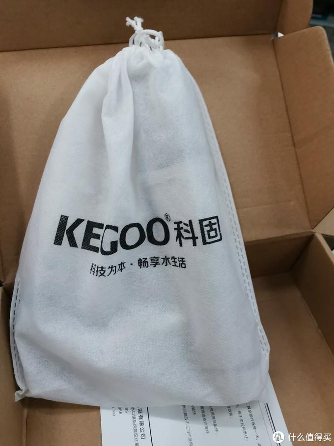 图书馆猿の科固(KEGOO)面盆龙头&面盆落水 简单晒