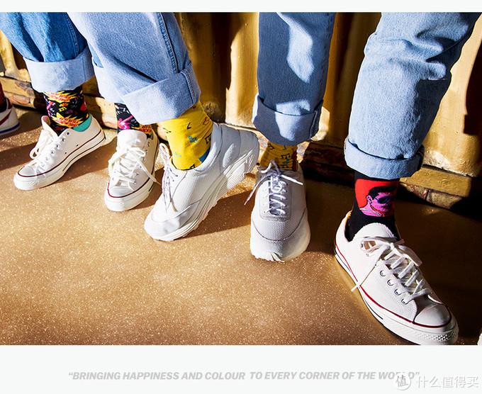 happy socks x queen联名