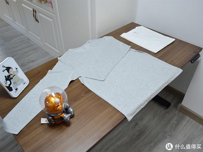 银离子抗菌T恤两件装,90分打底轻薄套装体验
