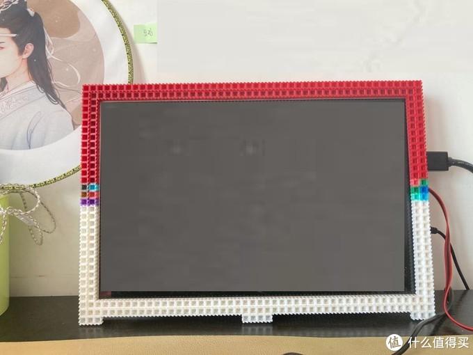 废物利用-微积木DIY废笔记本显示屏
