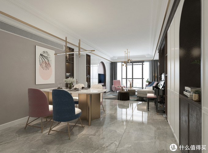 海外华侨116平米现代风新家,细节之处尽显品味,买房可以照着装