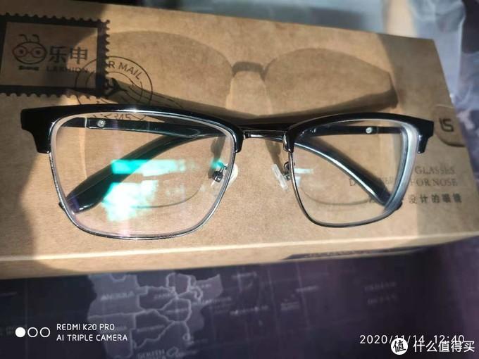 细眉框的眼镜,还是挺好看的