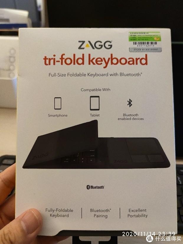 有了ZAGG折叠蓝牙键盘,还要啥妙控键盘!
