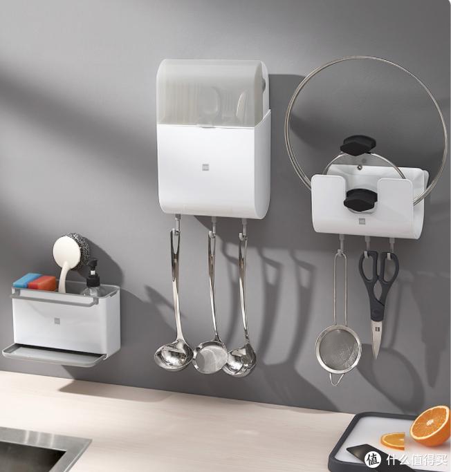 告别凌乱厨房:有品上新火候厨房置物挂架,99%抗菌,可拆洗,更干净