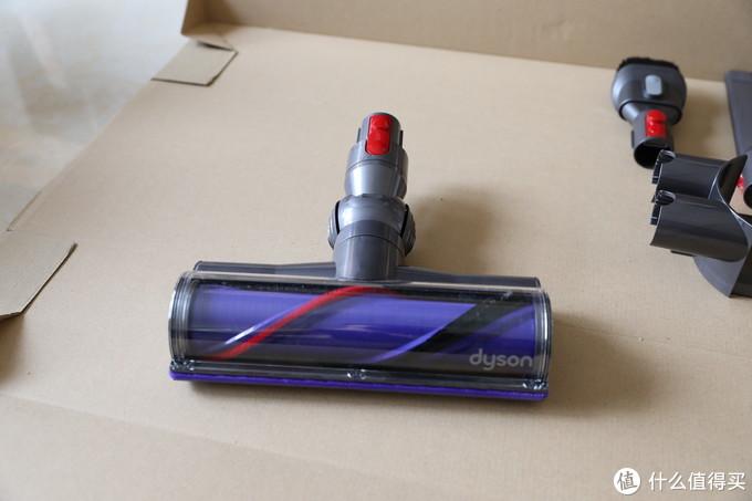 双十一戴森v8吸尘器开箱