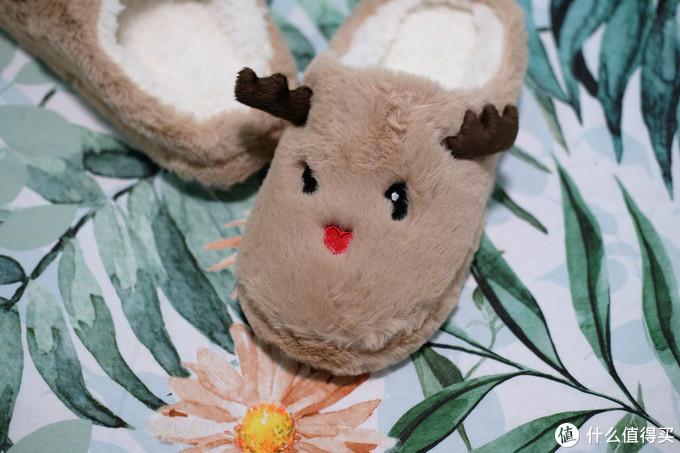 让冬季不是那么冷,热风hotwind麋鹿家居拖鞋 体验