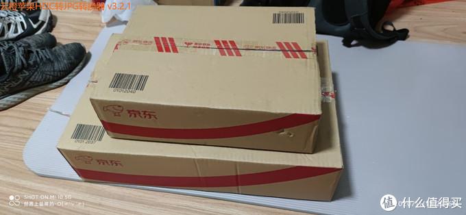 到手是一个大箱子和一个小箱子