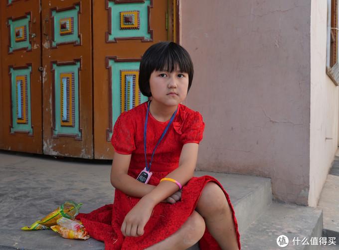 库车县城的小学生