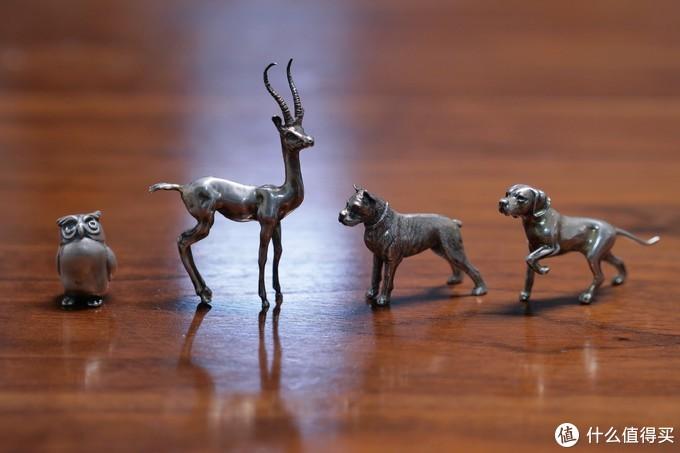 古董银质小动物