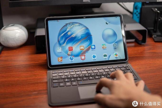 加触控板!smorss蓝牙键盘保护套,荣耀平板V6秒变笔记本