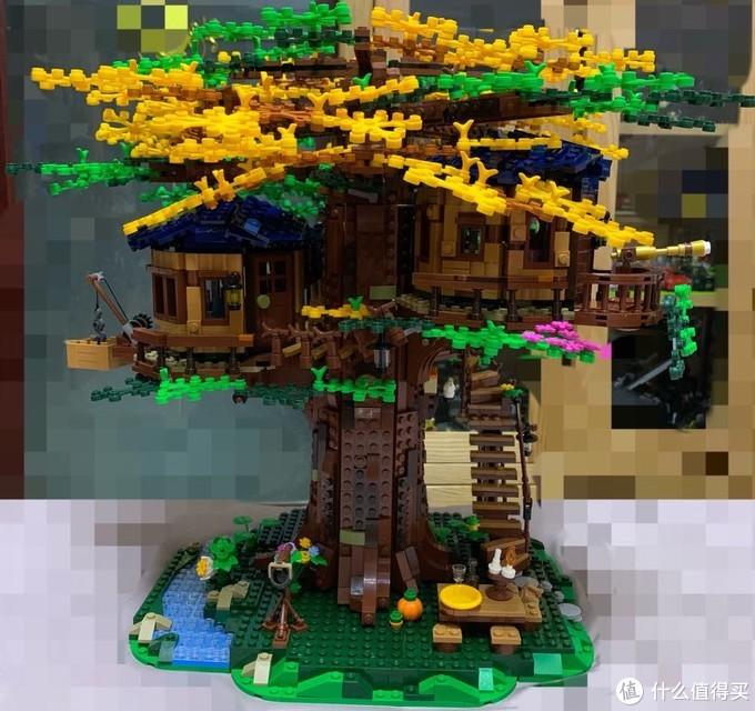 来打造属于自己的乐高21318树屋吧