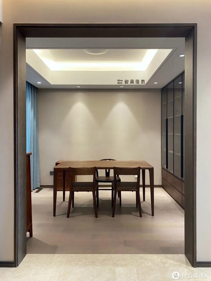180m²现代精装大平层黑胡桃家具订制太惊艳啦
