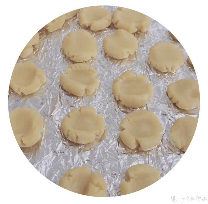 第一次尝试做饼干