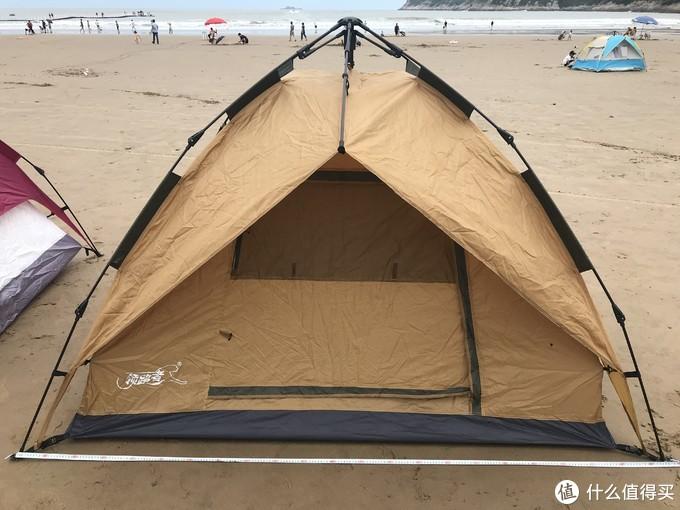 领路者帐篷外帐长约2.2米