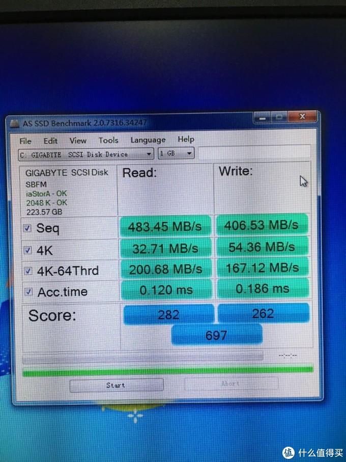 小众SSD-技嘉120G开箱评测
