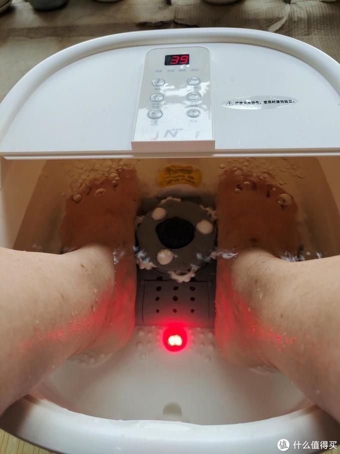 太极轮+气泡,网易严选足浴盆每晚给双脚来个高级水疗SPA
