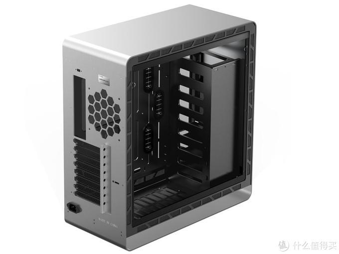 乔思伯发布UMX6高端中塔机箱:铝镁一体面板、垂直风道